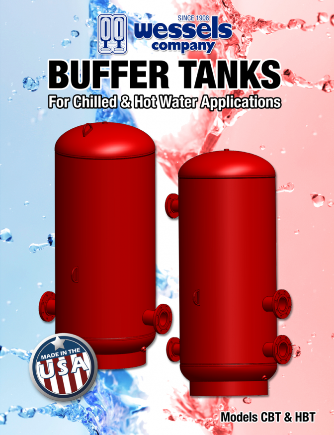 Buffer Tanks for Cold and Hot Water Systems | Wessels Tank Co.