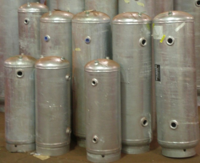 Galvanized Compression Tanks Wessels Tank Co