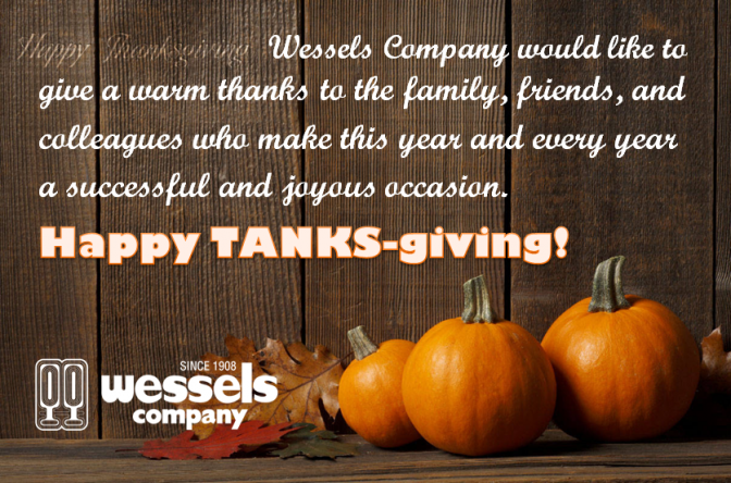 Happy Thanksgiving From Wessels Company Wessels Company